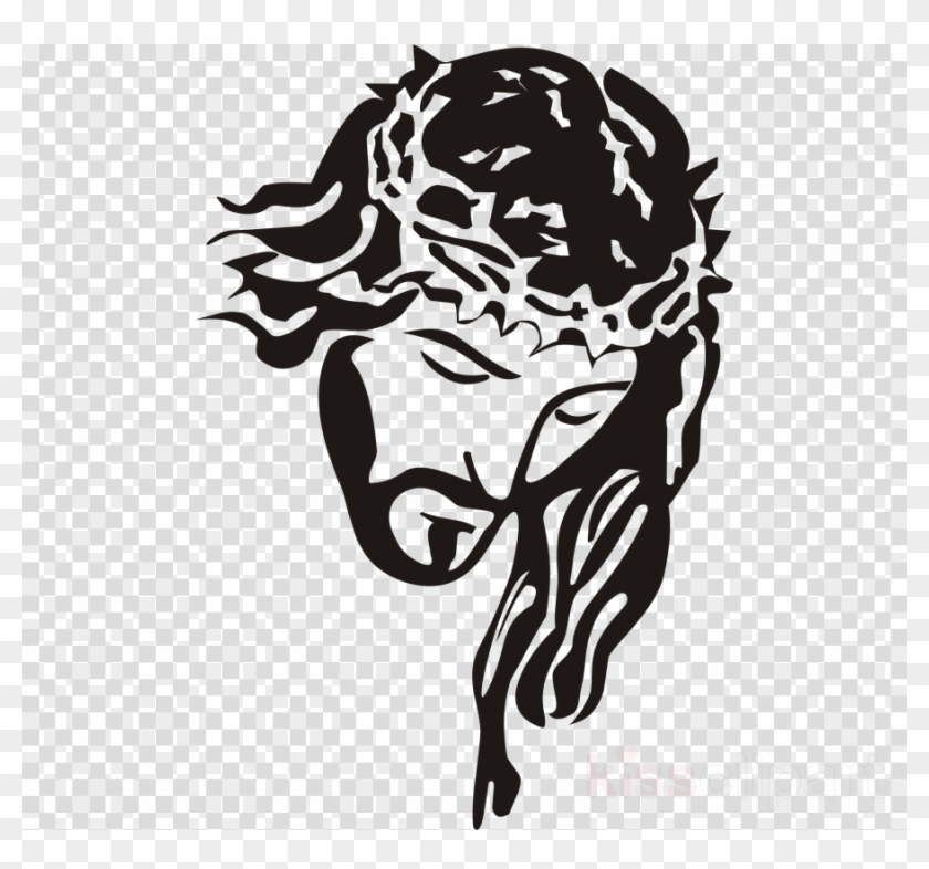 Stencil Jesus Clipart Stencil Christianity Holy Face.
