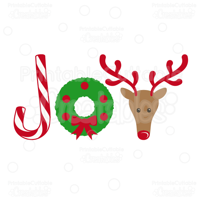 Free Christmas Clip Art Joy.