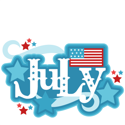 July Clipart Images.