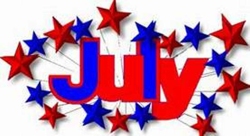2342 July free clipart.