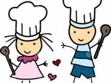 Kids Monthly Cooking Series Chef.