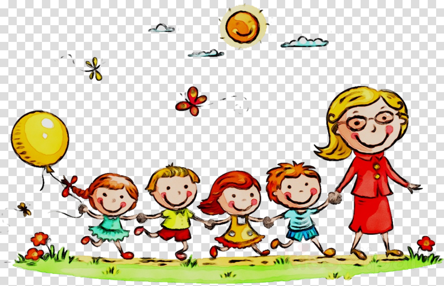 Kindergarten Cartoon clipart.