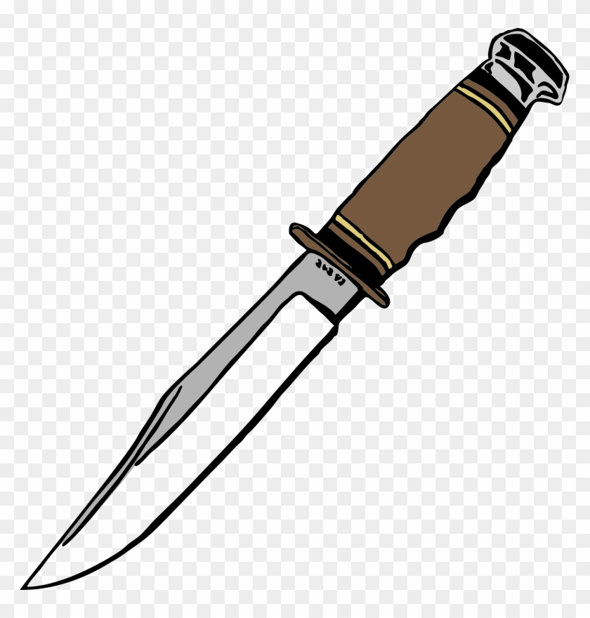 Weapon Knife Clipart.