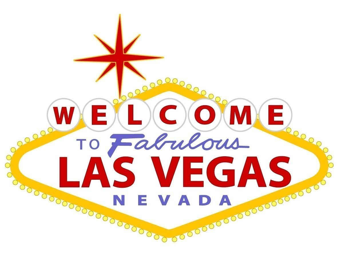 Spotlight Las Vegas, Las Vegas Sign Free Clipart.