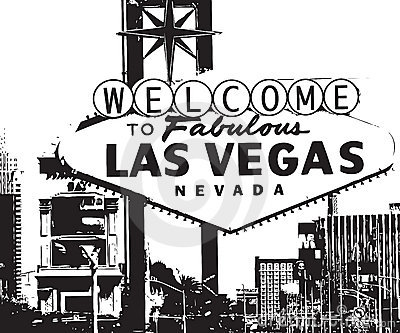 Las Vegas City Clipart.