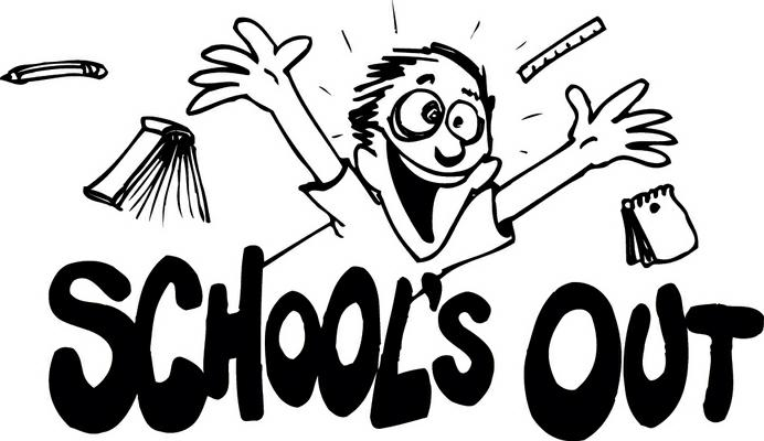 Happy Last Day Of School Clipart.