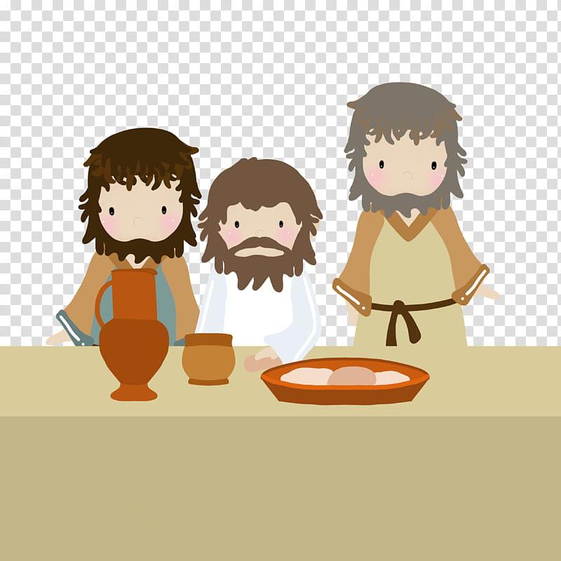 Jesus last supper lds free art transparent background PNG.