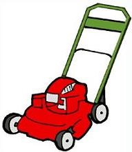 Free Lawn Mower Clipart.