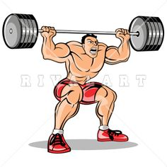 Awesome Weight Lifting Clip Art!.