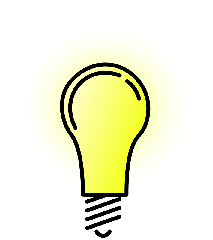 Free Clipart: Lightbulb Bright.