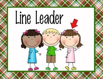 line leader.