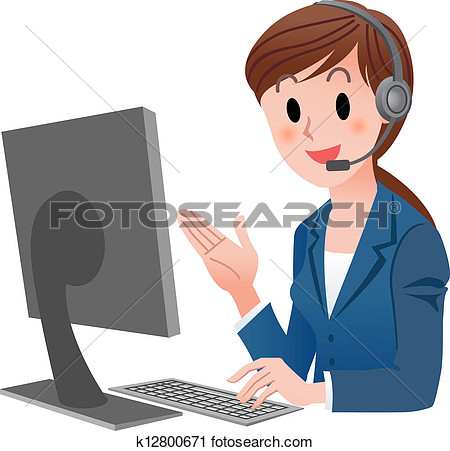 Clipart Customer Service.