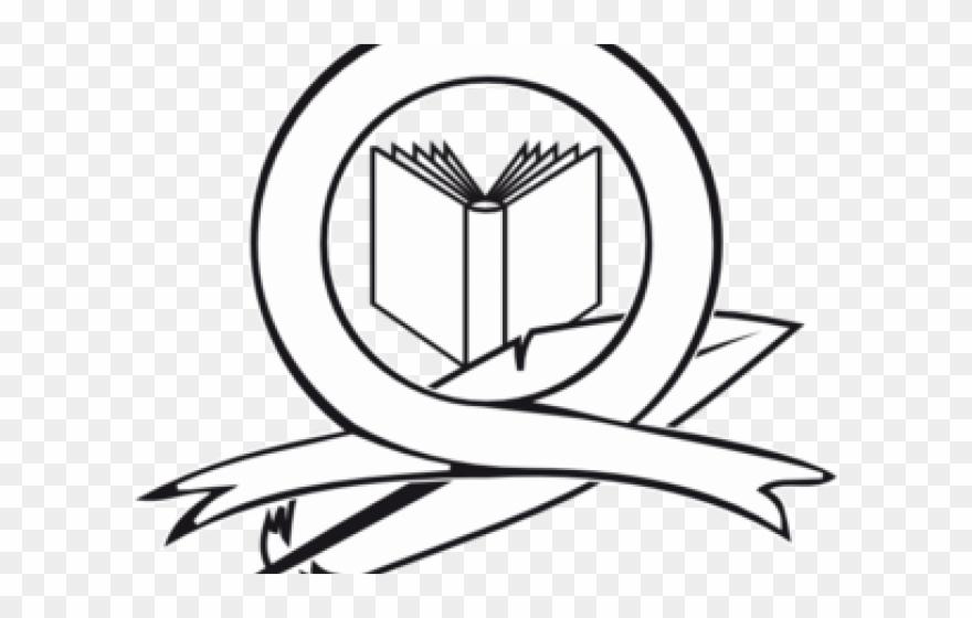 Line Art Clipart Logo.