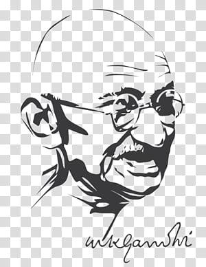 Mahatma Gandhi transparent background PNG cliparts free.
