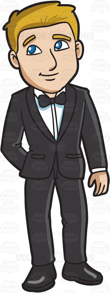 Showing post & media for Cartoon tuxedo man.