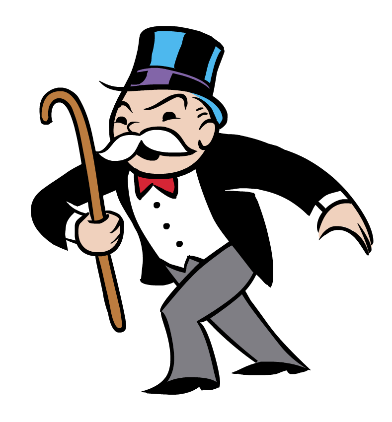 Whose Monopoly Man Come to Life is This? Oh. Roger Stone Jr.