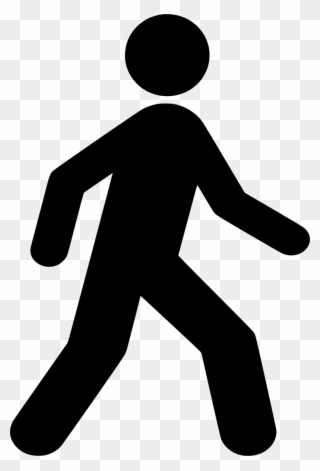 Man Walking Clip Art.