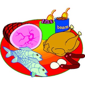Meats Clipart.