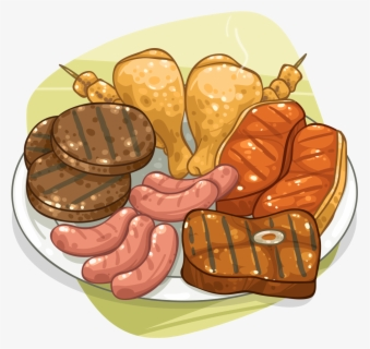 Free Meats Clip Art with No Background.