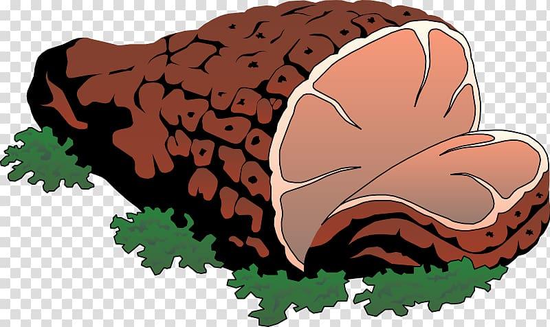 Ham Roast beef Meat Steak , Meat Free transparent background.
