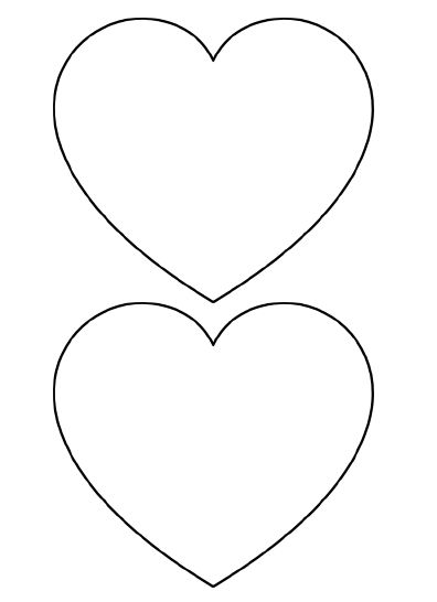 25+ best ideas about Heart Template on Pinterest.