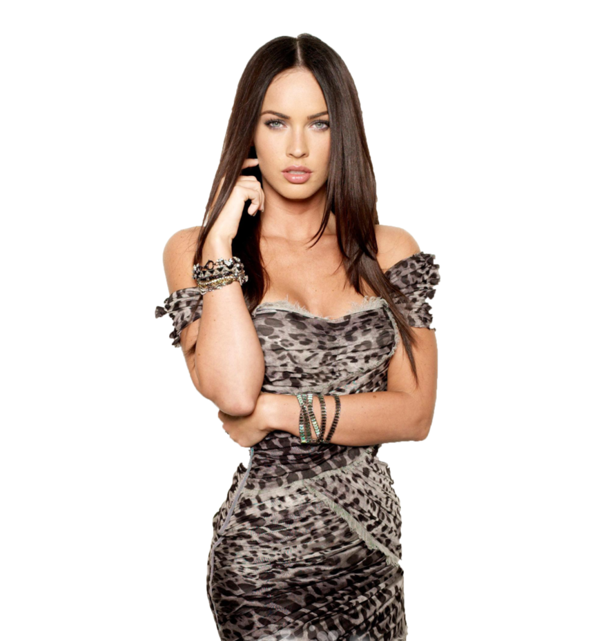 Megan Fox PNG Images Transparent Free Download.