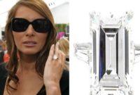 Melania Trump Wedding Ring.