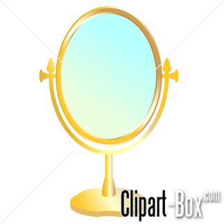Clipart Of A Mirror.