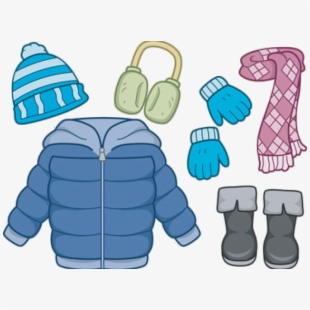 Gloves Clipart Coat Hat.