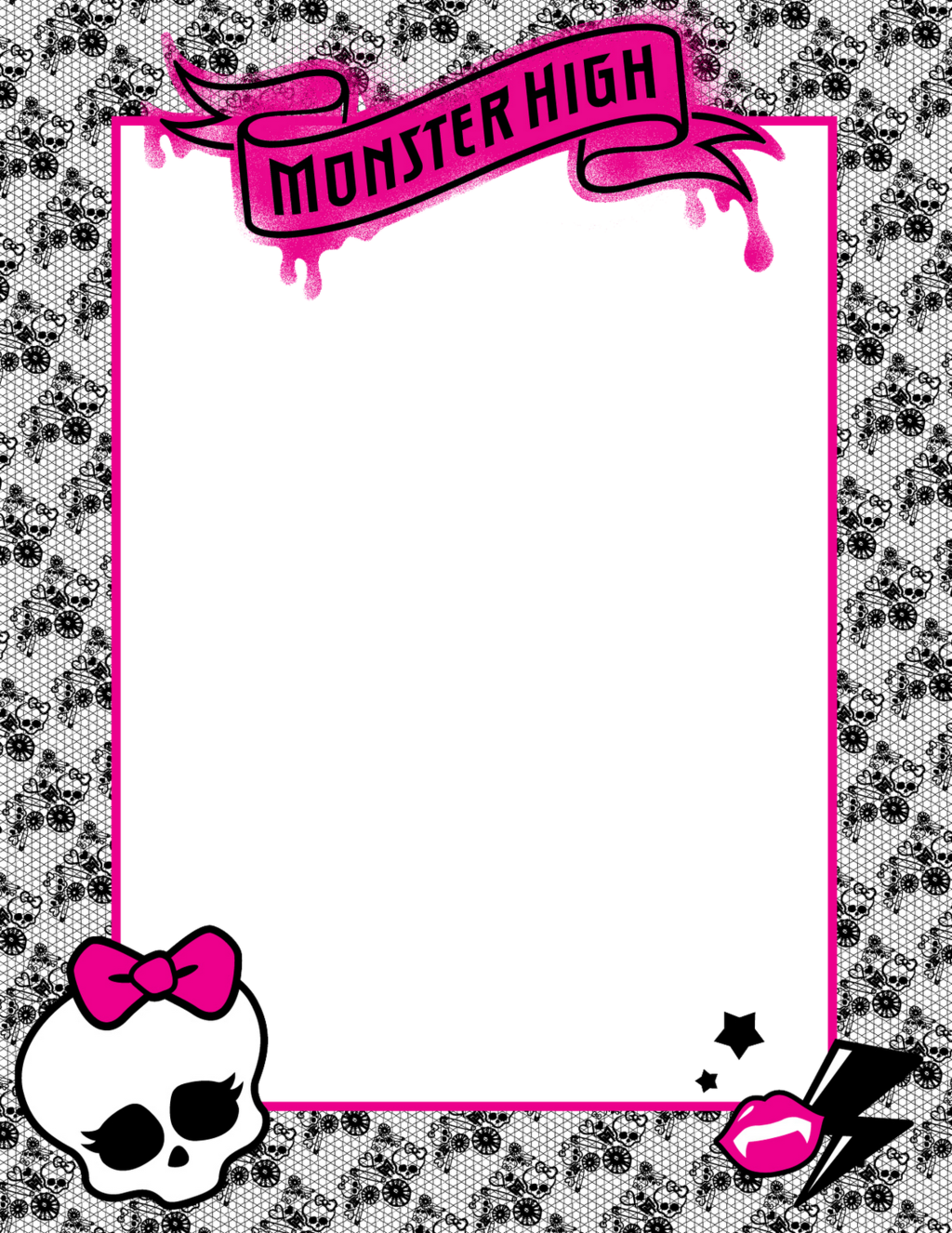 Watch more like Monster High Skull Clip Art.