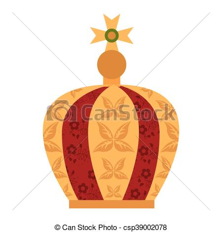 Vectors Illustration of virgin mary crown icon vector illustration.