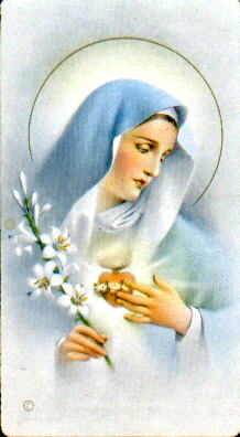 Blessed Virgin Mary.