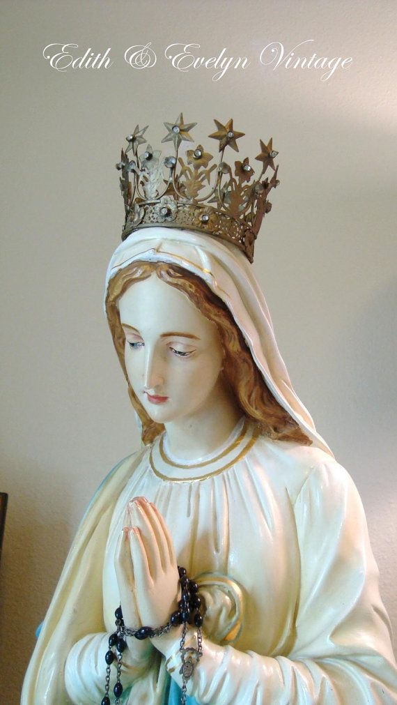 17 Best ideas about Virgin Mary Statue on Pinterest.