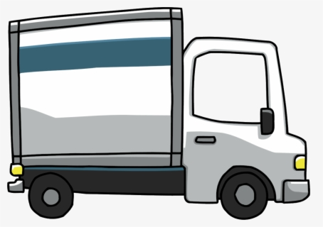 Free Moving Van Clip Art with No Background.