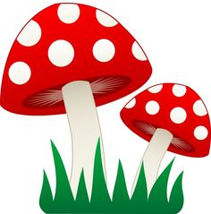 1723 Mushroom free clipart.