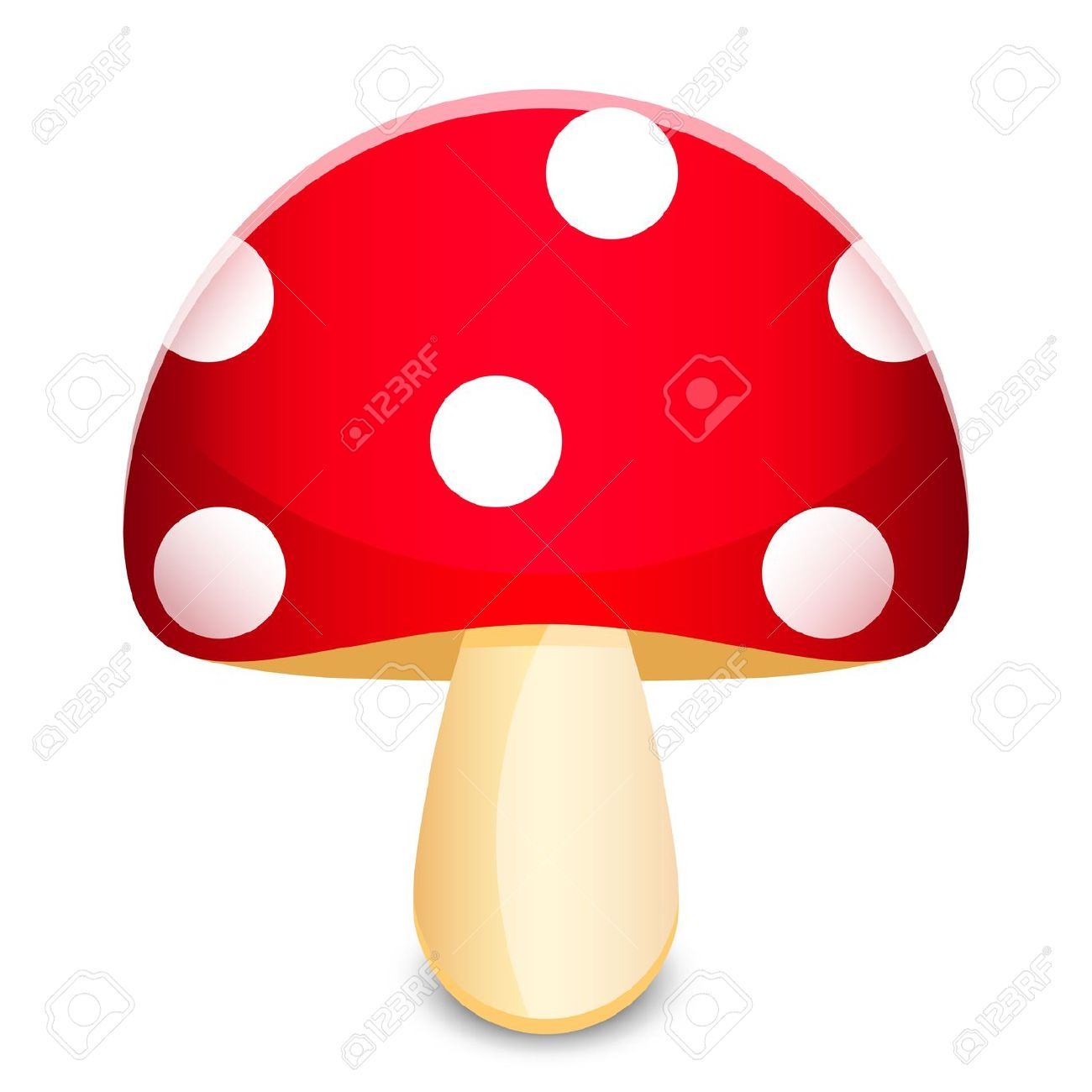 Clipart of mushroom 5 » Clipart Station.