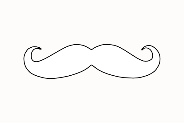 Free Printable Mustaches.