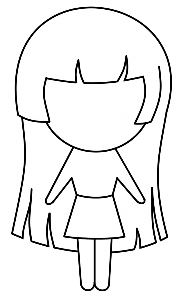 Images Of Anime Girl Drawing School Appropriate Clipart.