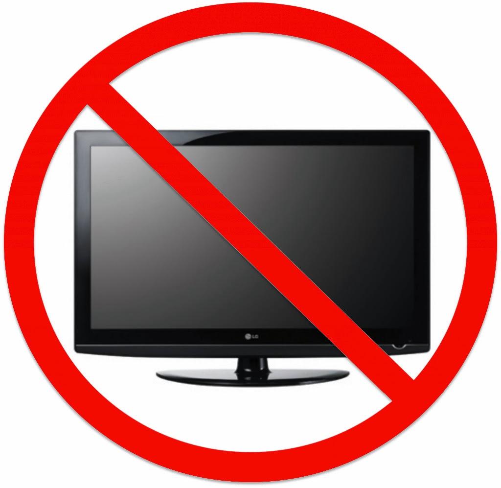 Clipart Of No Tv.
