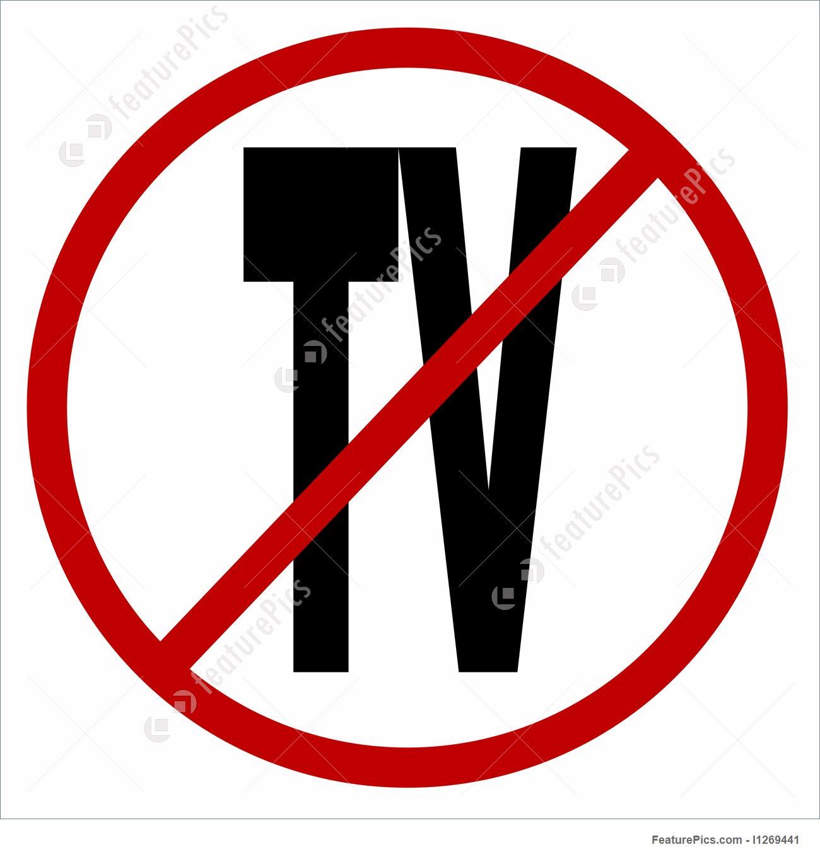 No TV Icon Stock Illustration I1269441 at FeaturePics.