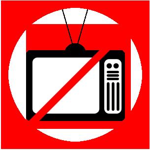 no TV.