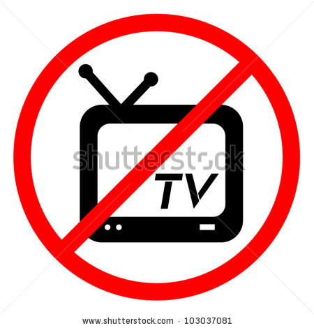No Tv Stock Images, Royalty.