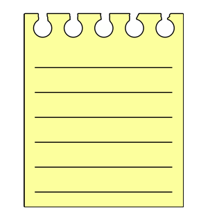 Notes clipart, cliparts of Notes free download (wmf, eps, emf, svg.