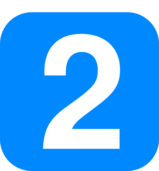 Number In Light Blue Rounded Square Clip Art at Clker.com.