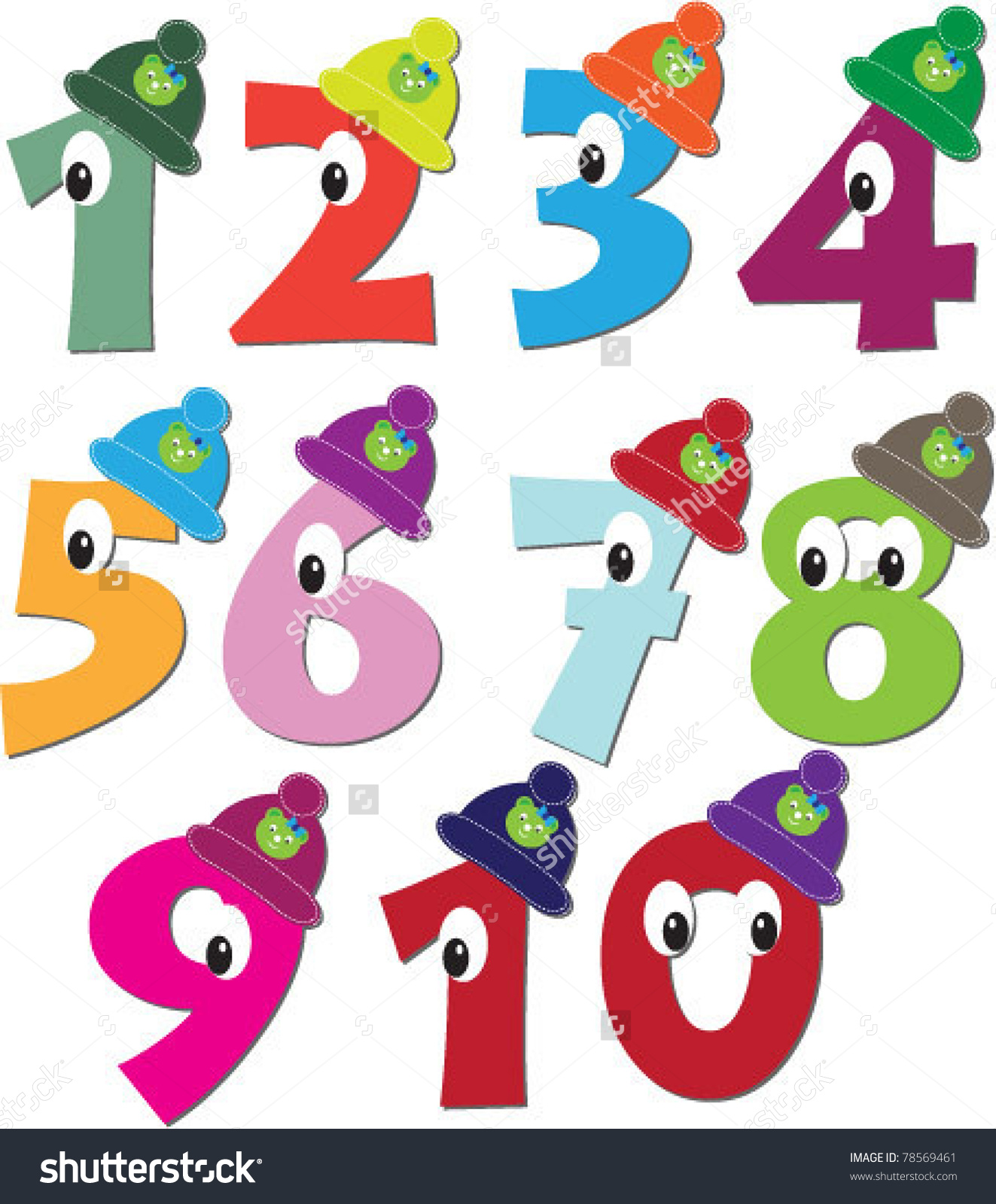 clipart of numbers 1 10 #18