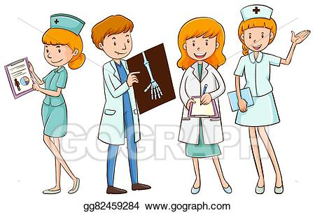 Doctors And Nurses Clipart & Free Clip Art Images #32367.