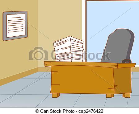 Clip Art of office.
