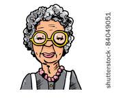 Similiar Wrinkled Old Lady Clip Art Keywords.