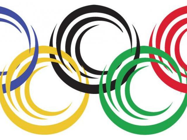 Olympic Rings Clipart 2.