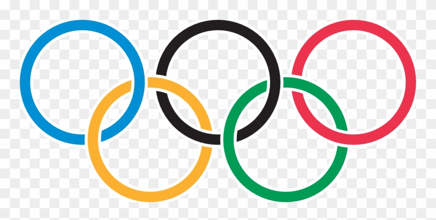 Olympic Rings Clipart (#833264).